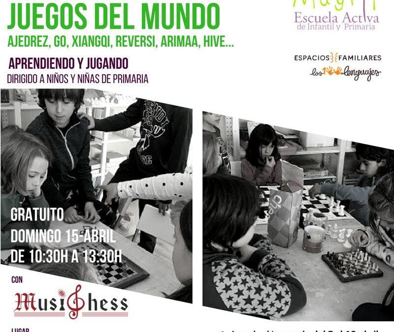 """Taller gratuito """"Juegos del Mundo"""", organizado por Mayrit en la sede de Los 100 Lenguajes"""