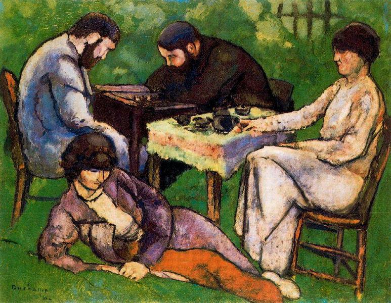 Marcel Duchamp: La batalla entre el arte y el ajedrez.  Por Diego Peláez