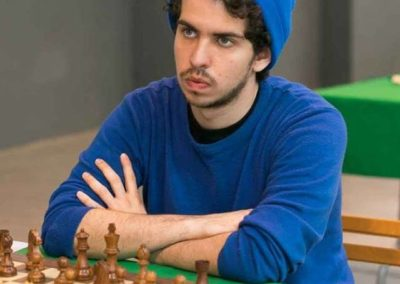 IM J. R. Gascón. Blitz Chess winner
