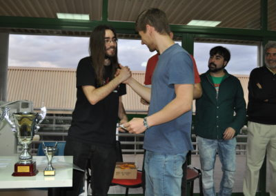 M. Dominguez. English Draughts winner
