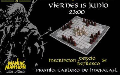 Let's play Hnefatafl! Maniac Vikings Tournament