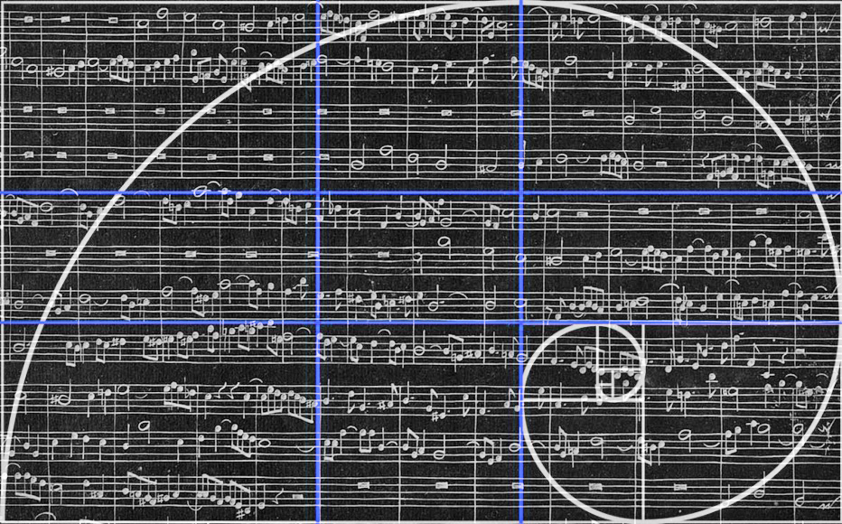 La proporción áurea en el arte II: La música Áurea. Por Diego Peláez.