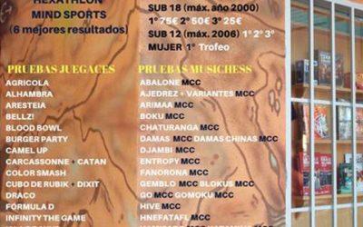 I Circuito de Mind Sports Juegaces-MusiChess 2018-19