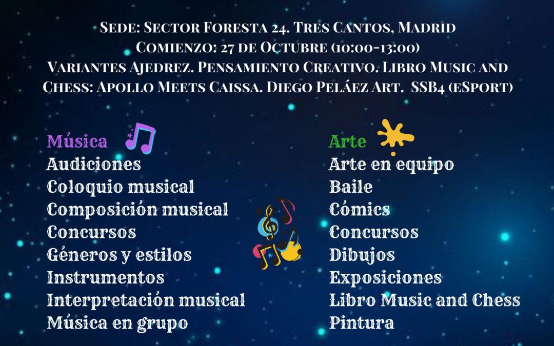 "I Festival ""Música, Arte y Mente"" Escuela Musical Armonía-MusiChess"
