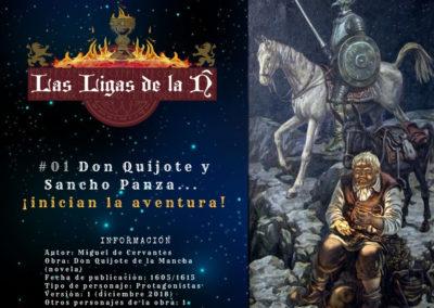 #1 Don Quijote y Sancho Panza