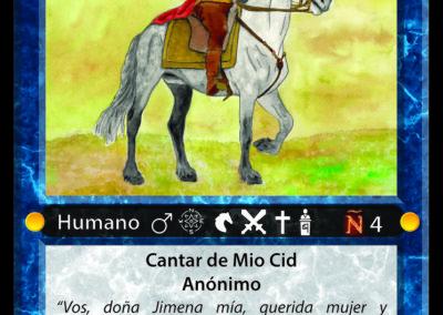 #13 Cid Campeador / Rodrigo Díaz de Vivar