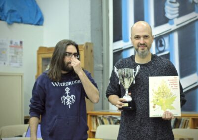 Subcampeón Absoluto. Fernando Holgado