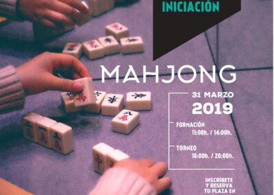 Taller de Aprendizaje y Torneo de Iniciación Mahjong