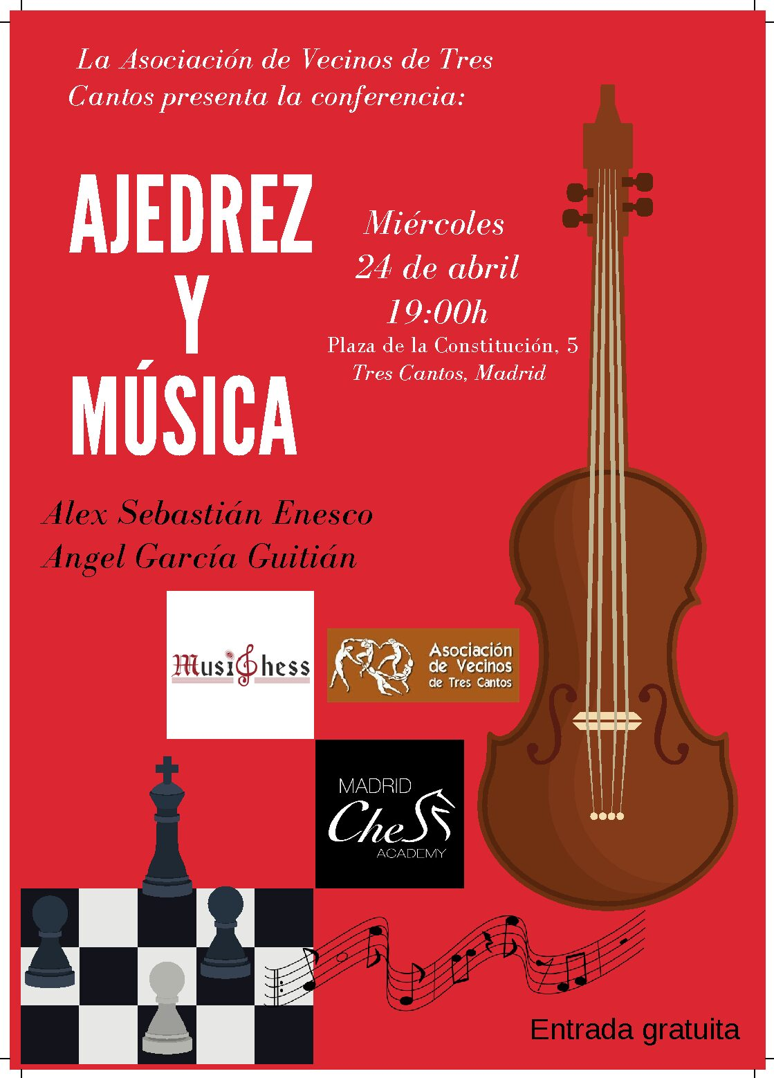"""Conferencia MusiChess """"Música y Ajedrez"""""""