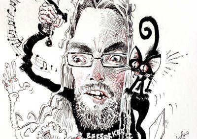 #0 Caballero Sebaostián y Tyr felino