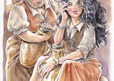 #36 Maritornes y Dulcinea del Toboso