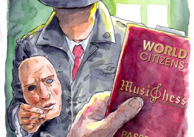 Apátrida y Pasaporte de Tadeusz F.