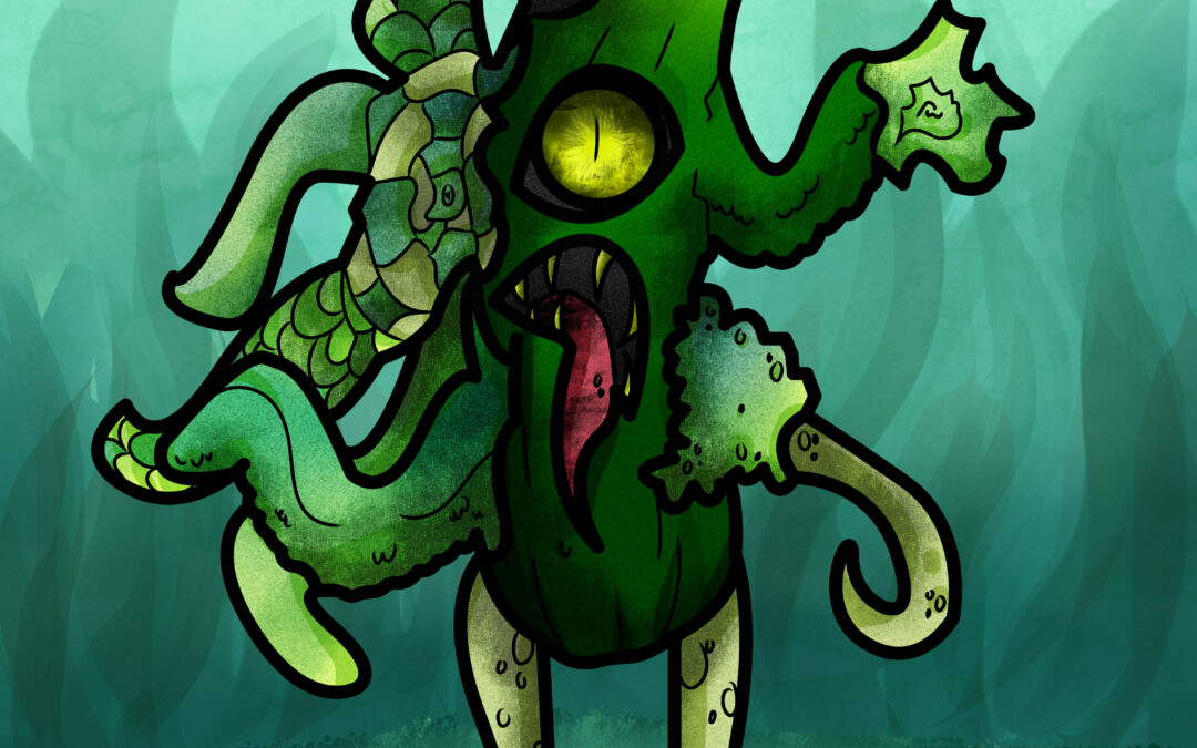 Monstruo Pepino Oscuro (DLC)