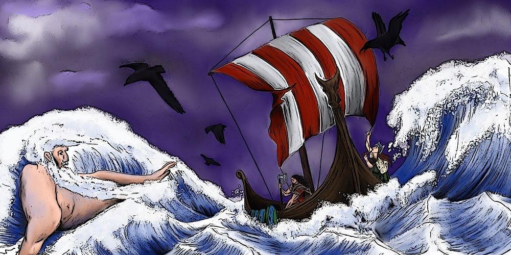 Poseidón y Vikingos