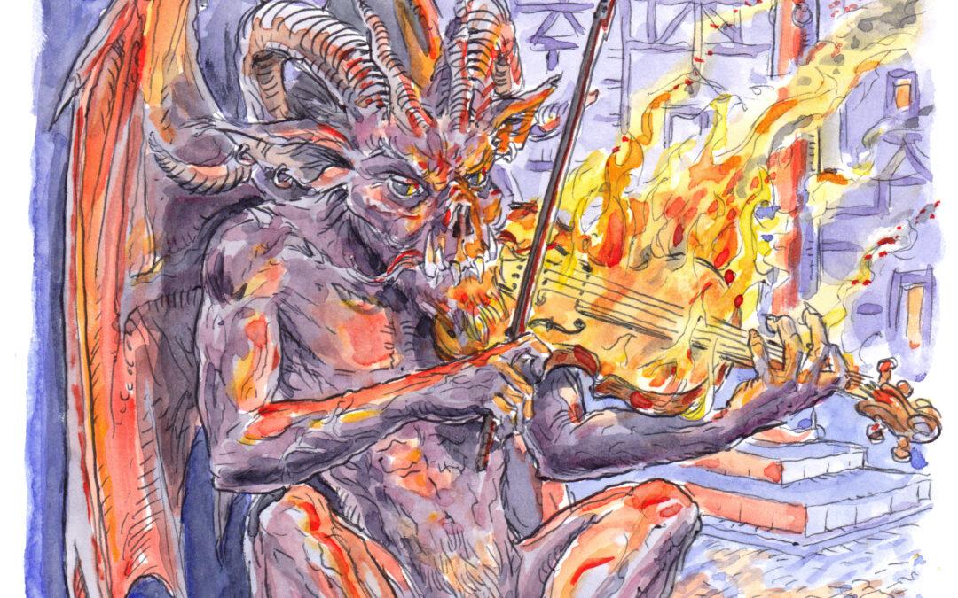 Violín Trino del Diablo