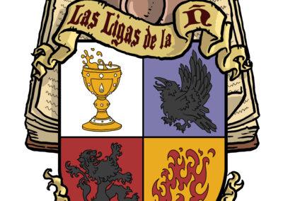 Escudo Las Ligas de la Ñ Cuatro Casas